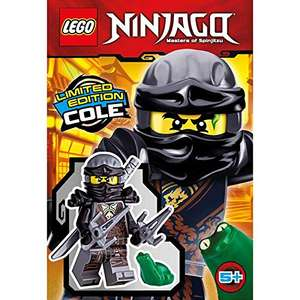 LEGO, NinjaGo Minifigure, Cole Hands of Time (Limited Edition Foil Pack), (Amazon Prime)