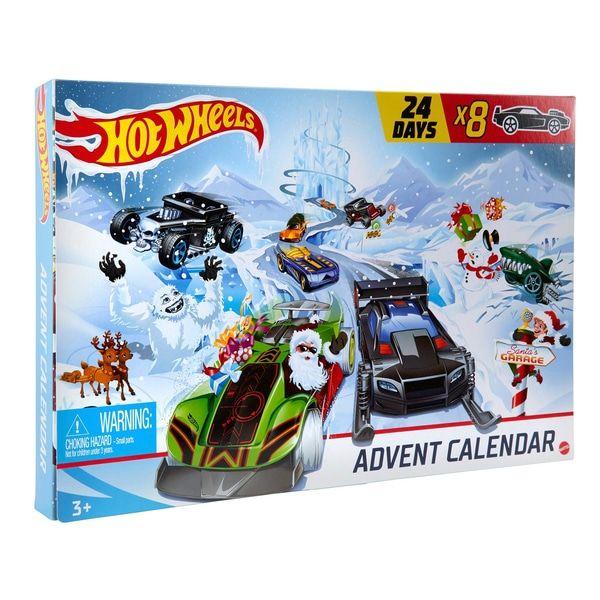 Hot Wheels Mattel Adventskalender 2020 1 Stk. (15€) mit Click&Collect oder 2 Stk. (30€) ohne VSK