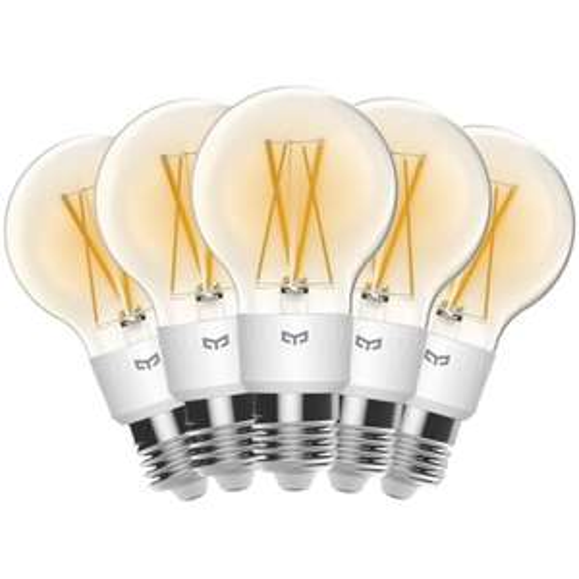5er Bundle: Yeelight Filament - Smarte LED-Lampe aus DE   3 Stück für 37€ (E27, HomeKit / Google / Alexa, 35 - 700 Lumen, 2700 Kelvin)
