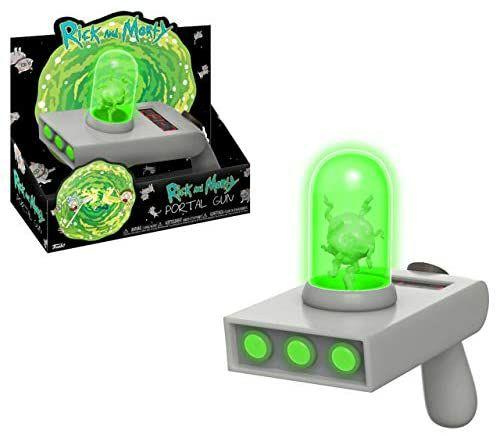 Funko Rick & Morty Portal Gun, mit Licht und Sound, [Amazon Prime]