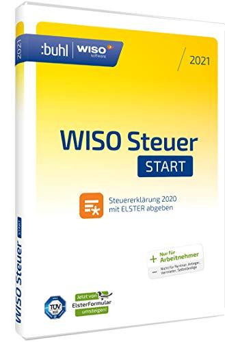 [Amazon] WISO Steuer Start 2021 für Steuerjahr 2020 (Arbeitnehmer) - Aktivierungscode via Email/CD/Frustfrei