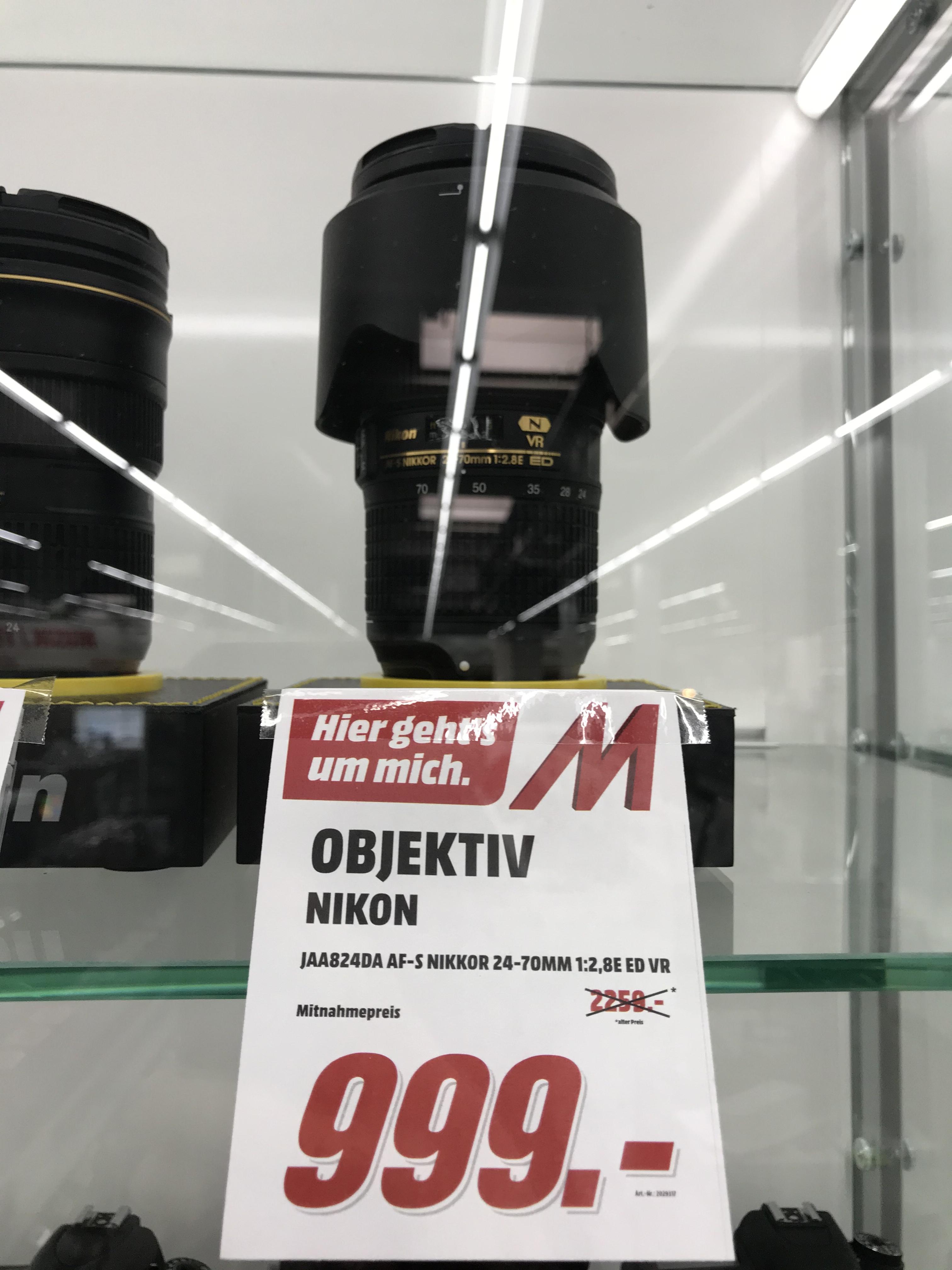 [Lokal MM Pforzheim] Nikon AF-S 24-70mm F2.8E F-Mount
