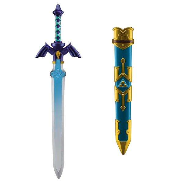 Nintendo The Legend of Zelda: Masterschwert-Replika, ca. 66 cm für 14,99€ // Schild für 9,99€