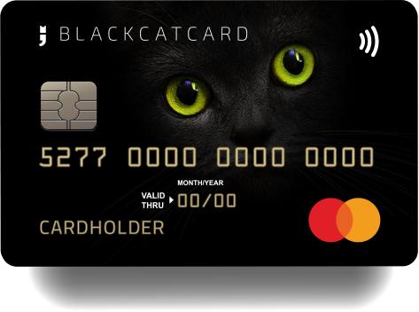 BlackCatCard: 40€ Bestandskunden-Aktion nach 1000€ Aufladung - kostenlose Prepaid Mastercard [ohne Schufa]