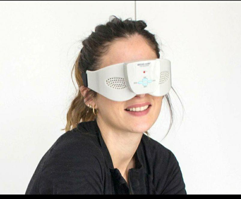 Eco DE Augen-Massagebrille - mit 7 Massage Modi