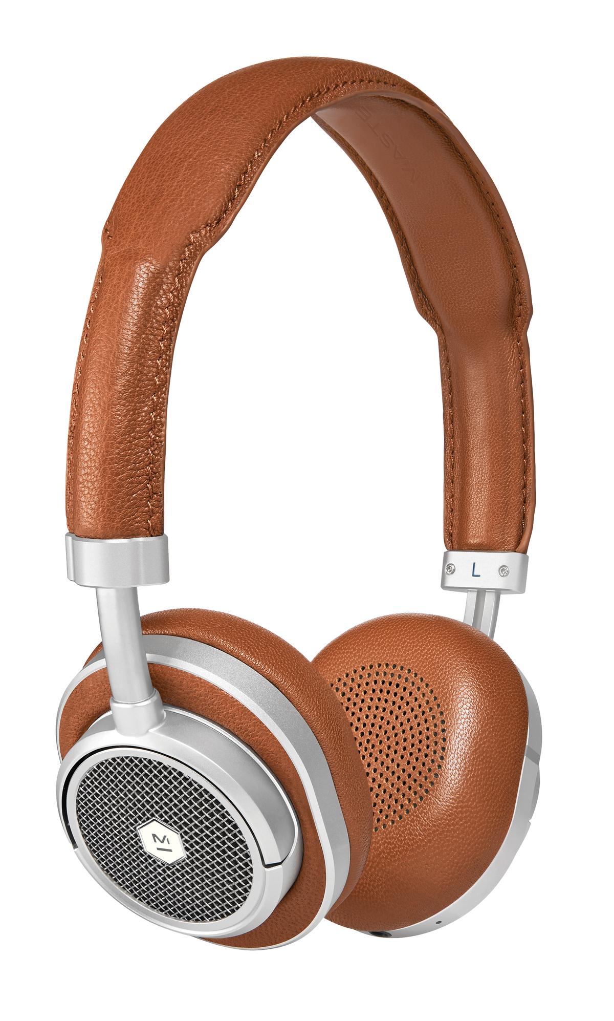 [B-Ware] Master & Dynamic MW50+ Bluetooth-Kopfhörer (wahlweise Over-Ear oder On-Ear, halboffen, BT 4.1, aptX, ~16h Akku, USB-C, Echtleder)
