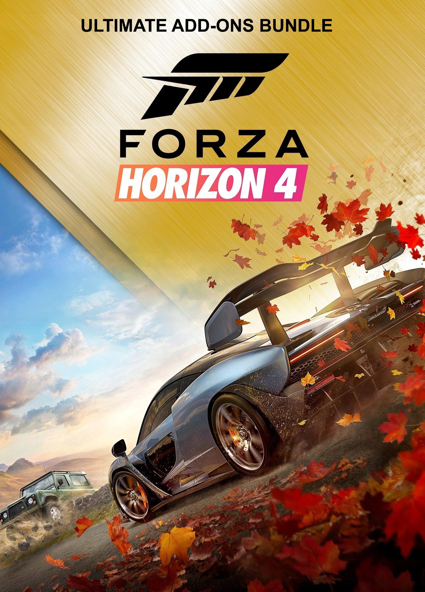 Bundle Forza Horizon 4 – Ultimate Add Ons für Xbox One - Series X S & PC Windows 10 (Microsoft Store Brazil)