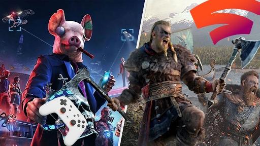 [Stadia Sammeldeal der Woche 15/16]: Assassin's Creed Valhalla, Watch Dogs Legion und ältere Teile
