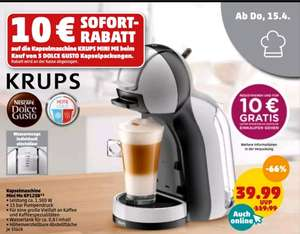 KRUPS - Dolce Gusto Mini Me (KP123B) bei Penny
