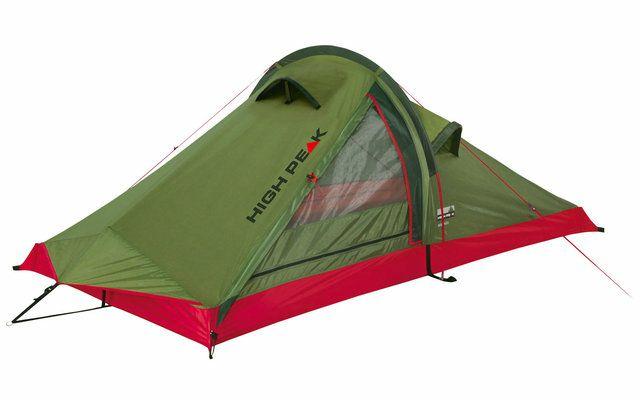 High Peak Siskin Einbogenzelt, 2-Personen-Zelt, 3000mm Wassersäule, 1,7 kg, Packmaß: 38×10×18 cm [fritz-berger.de]