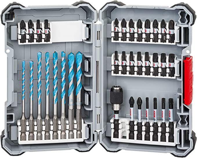 Bosch Impact Control Multi Construction Bohrer und Schrauberbit Set, 35-teilig @amazon Bitset Werkzeug