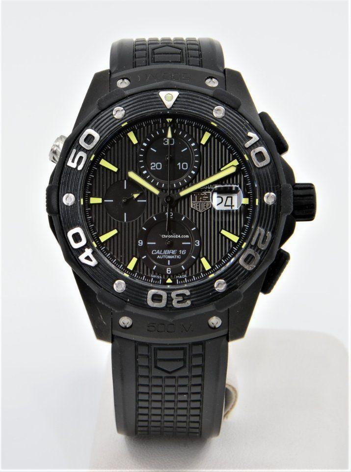 TAG Heuer Aquaracer 500m Titan Automatikuhr Chronograph 44mm - Swiss Made Luxus Diver