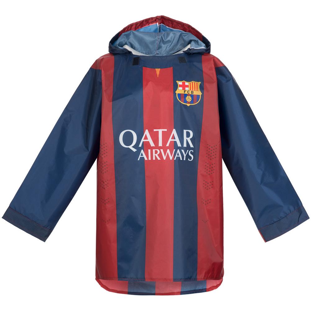 Regenjacke Poncho für je 3,99€ + 3,95€ VSK (Für Kinder und Erwachsene, FC Barcelona, Chelsea, Manchester United) [SportSpar]
