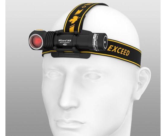 Armytek Wizard WR LED Taschenlampe/Kopflampe Weiß/Rot