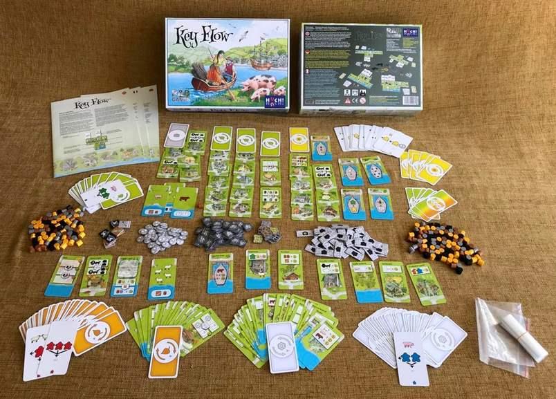[Spieleoffensive] Brettspiel - Board Game - Key Flow - BGG 7,4 - Bestpreis!