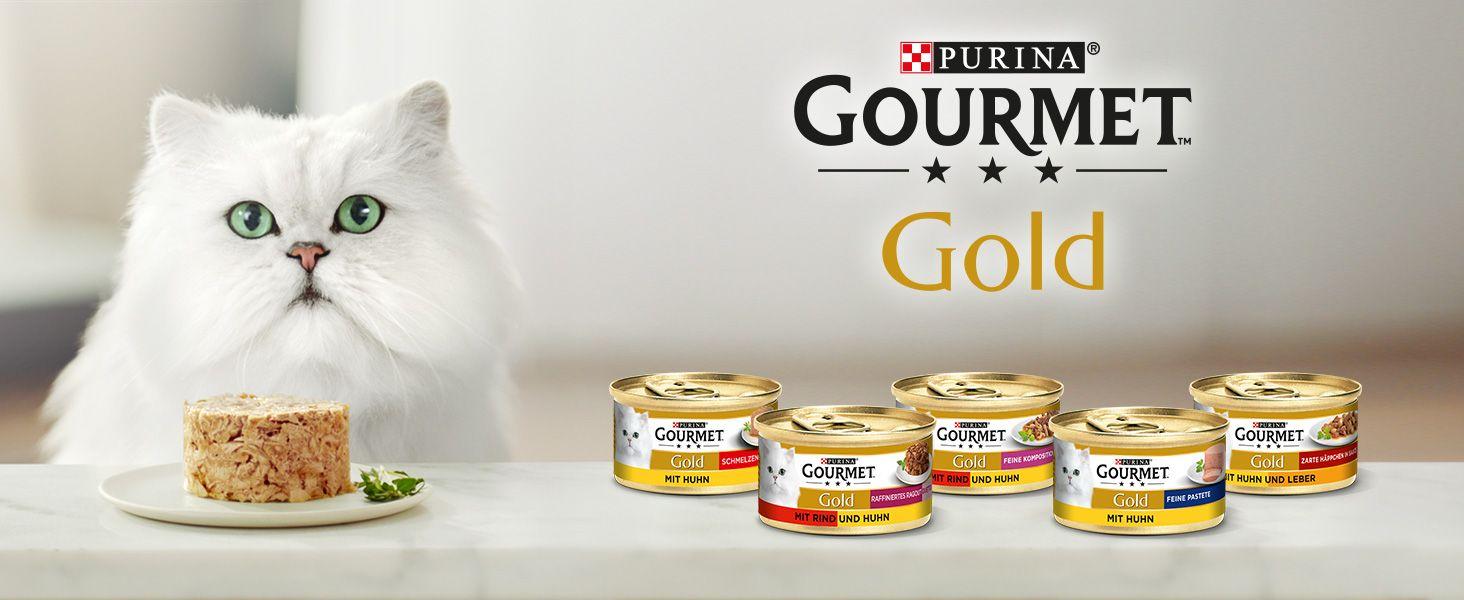 [Edeka + Real] 15x Purina Gourmet Gold Katzenfutter mit Coupon für 2,95€ (Stückpreis = ca. 0,19€)