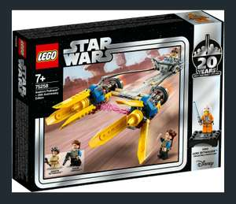 Lokal LEGO Star Wars - Anakin's Podrace 20 Jahre Edition (75258) Marktkauf Blomberg