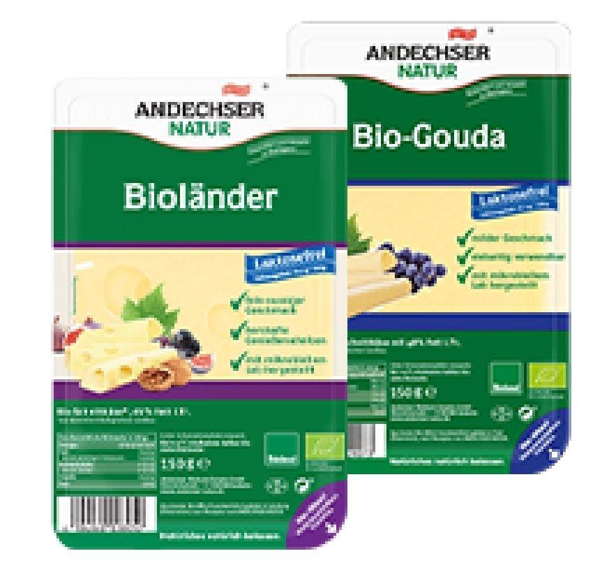 [Kaufland] 2x Andechser Bioländer 45% oder Bio-Gouda 150g Scheiben mit Couponplatz.de Coupon für
