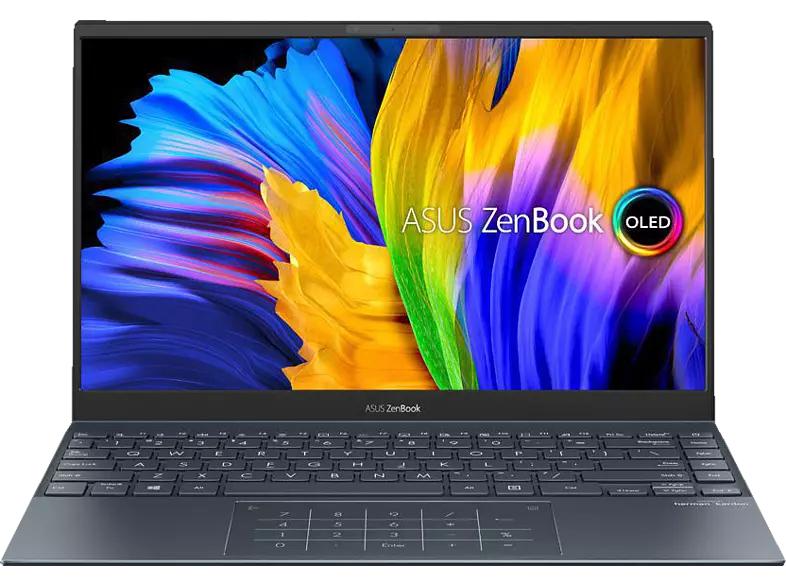 [Mediamarkt] ASUS ZenBook 13 OLED UX325EA-KG221T, Notebook mit 13,3 Zoll Display, Core i7 Prozessor, 16 GB RAM, 512 GB SSD, Intel Iris Xe