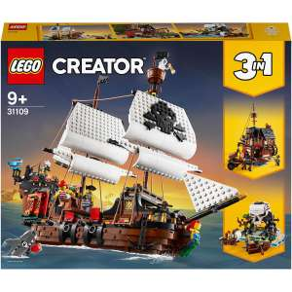 LEGO® Creator 3in1 - 31109 Piratenschiff