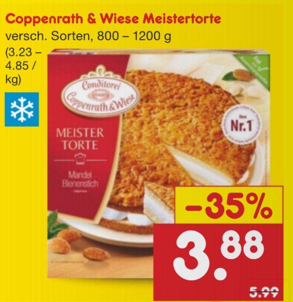 Coppenrath & Wiese Meistertorte 800-1200 g verschiedene Sorten Netto MD ab 19.04