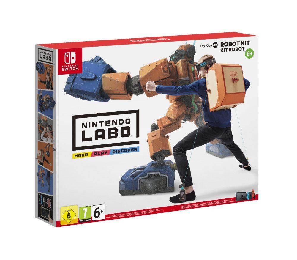 [Nintendo Switch] Labo Robo (14,99€ C&C)