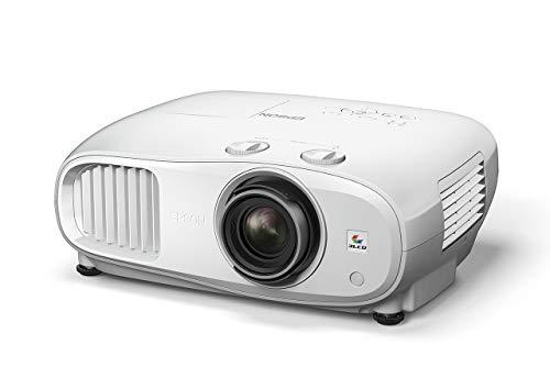 Epson EH-TW7000 3LCD, 4K PRO-UHD, 3000 Lumen, 500 Zoll Display, Heimkino, Streaming und Gaming Projektor, Weiß