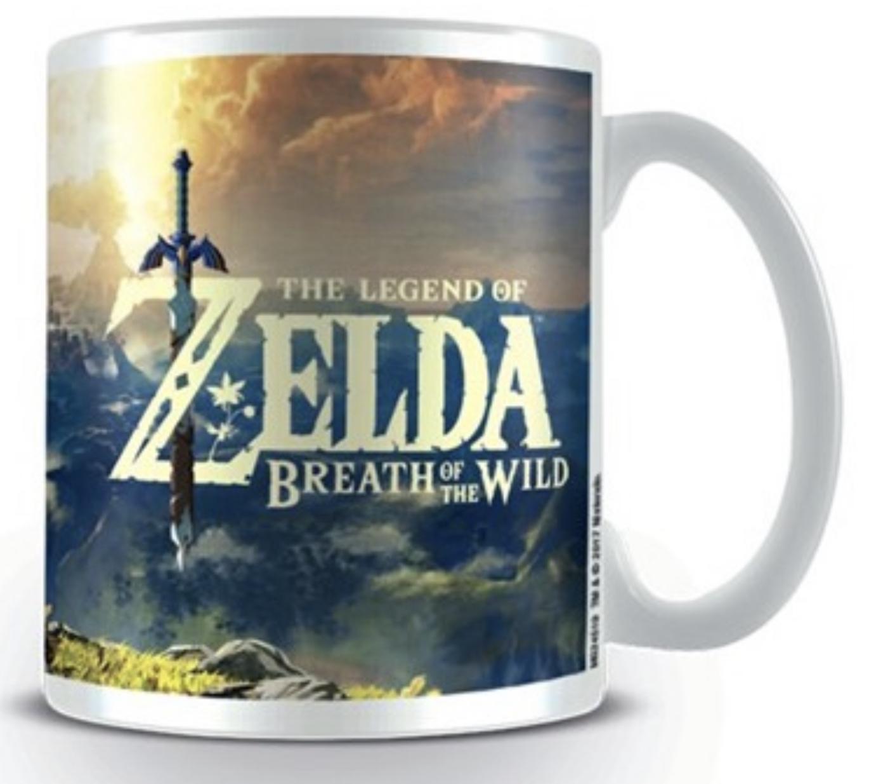 Nintendo Legend Zelda: Breath of The Wild Sunset Kaffeetasse für 6,75€ mit Prime