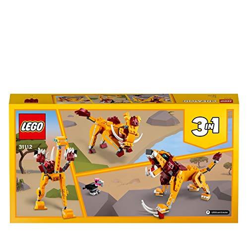 [Vk. d. Amazon.uk] [PRIME] LEGO Creator - 3 in 1 (wilder Löwe / Strauß / Warzenschwein) - LEGO 31112