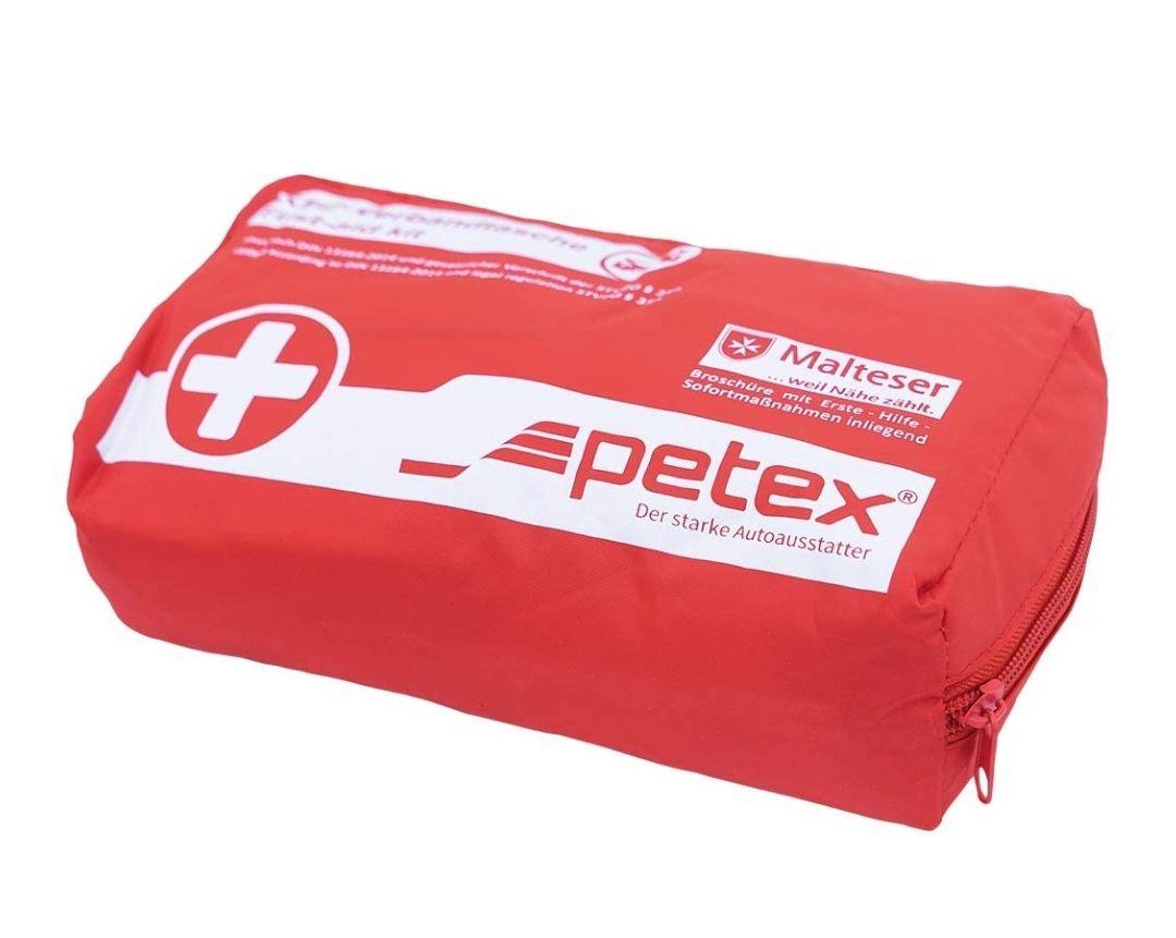 Petex KfZ Verbandtasche für 4,99 (Prime) Verbandkasten