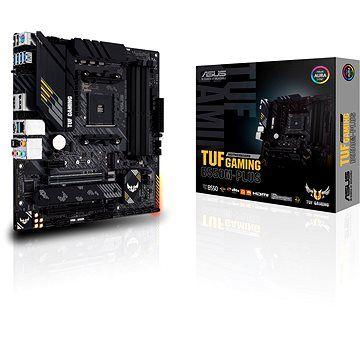 ASUS TUF Gaming B550M-Plus Gaming Mainboard Sockel AM4 (micro ATX, Ryzen, PCIe 4.0, 2x M.2, 2Gbit/s Ethernet [Alza]