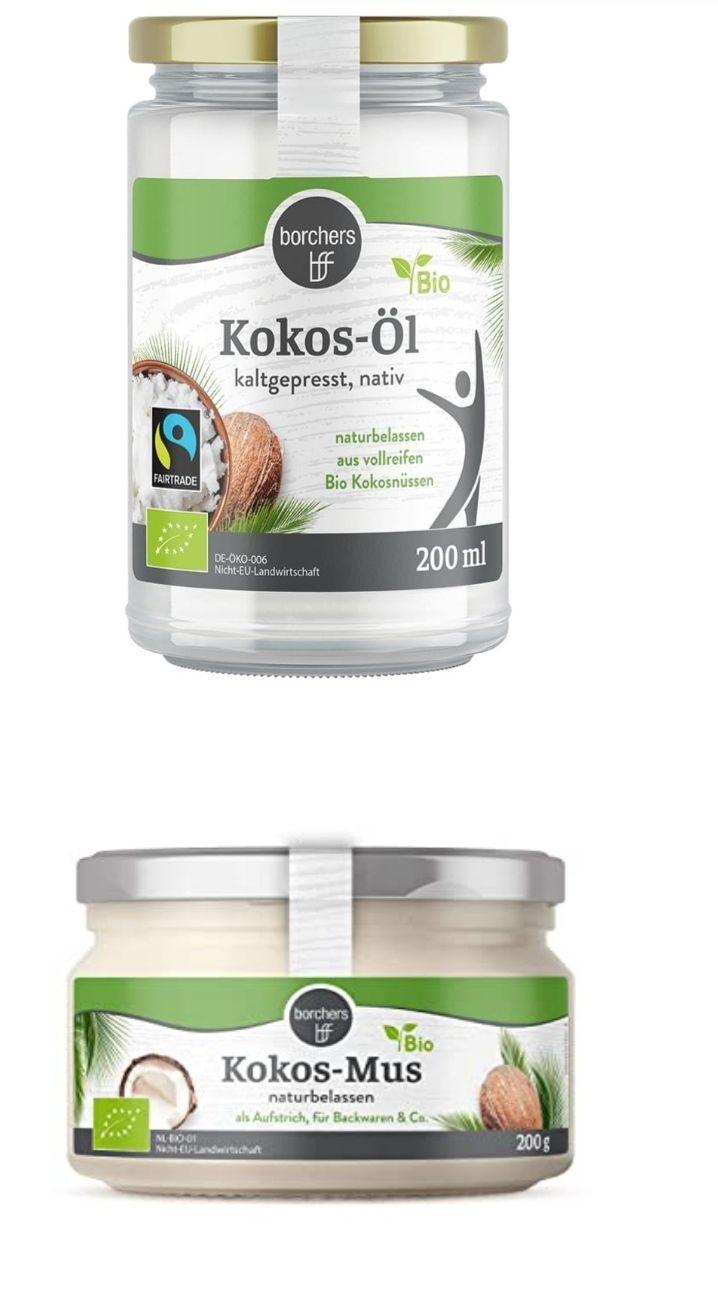 [Kaufland Do-Mi] Borchers Bio Kokosöl 200ml oder Kokosmus 200g im Angebot für 2,79€