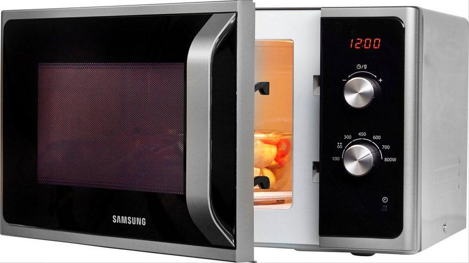 [Tagesangebot] Samsung Mikrowelle MS23F300EES mit Auftauautomatik für 84,99€ (statt 115€)