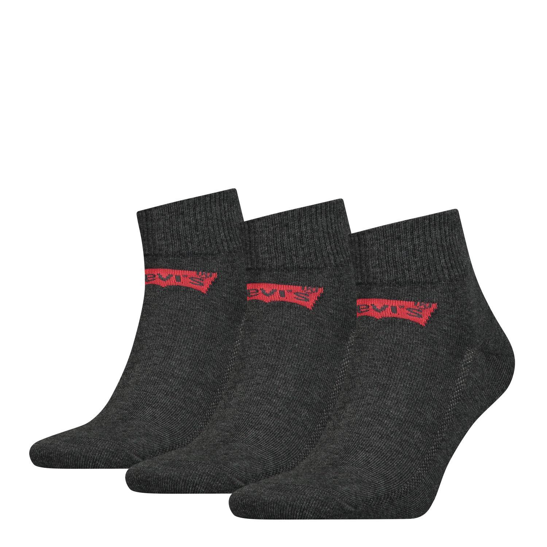 15 Paar Levis Quarter Socken (4 verschiedene Farben, Gr. 39-46, 2,20€ pro Paar)