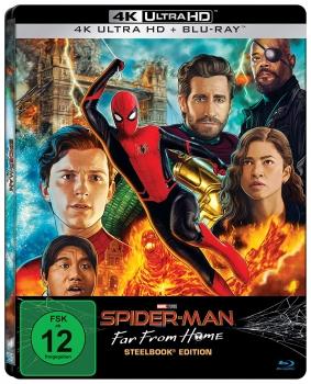[Alphamovies] Spider-Man: Far From Home 4K-Blu-ray Limited Steelbook für 22,56€ ohne VSK