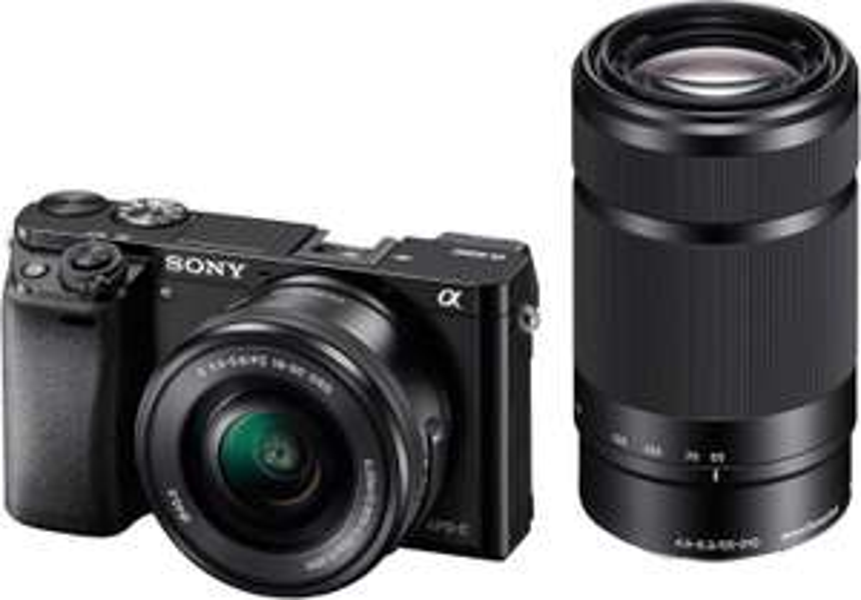 Sony Alpha 6000 Systemkamera inkl SEL 16-50 F3,5-5,6 & SEL 55-210 F4,5-6,3 Objektiv