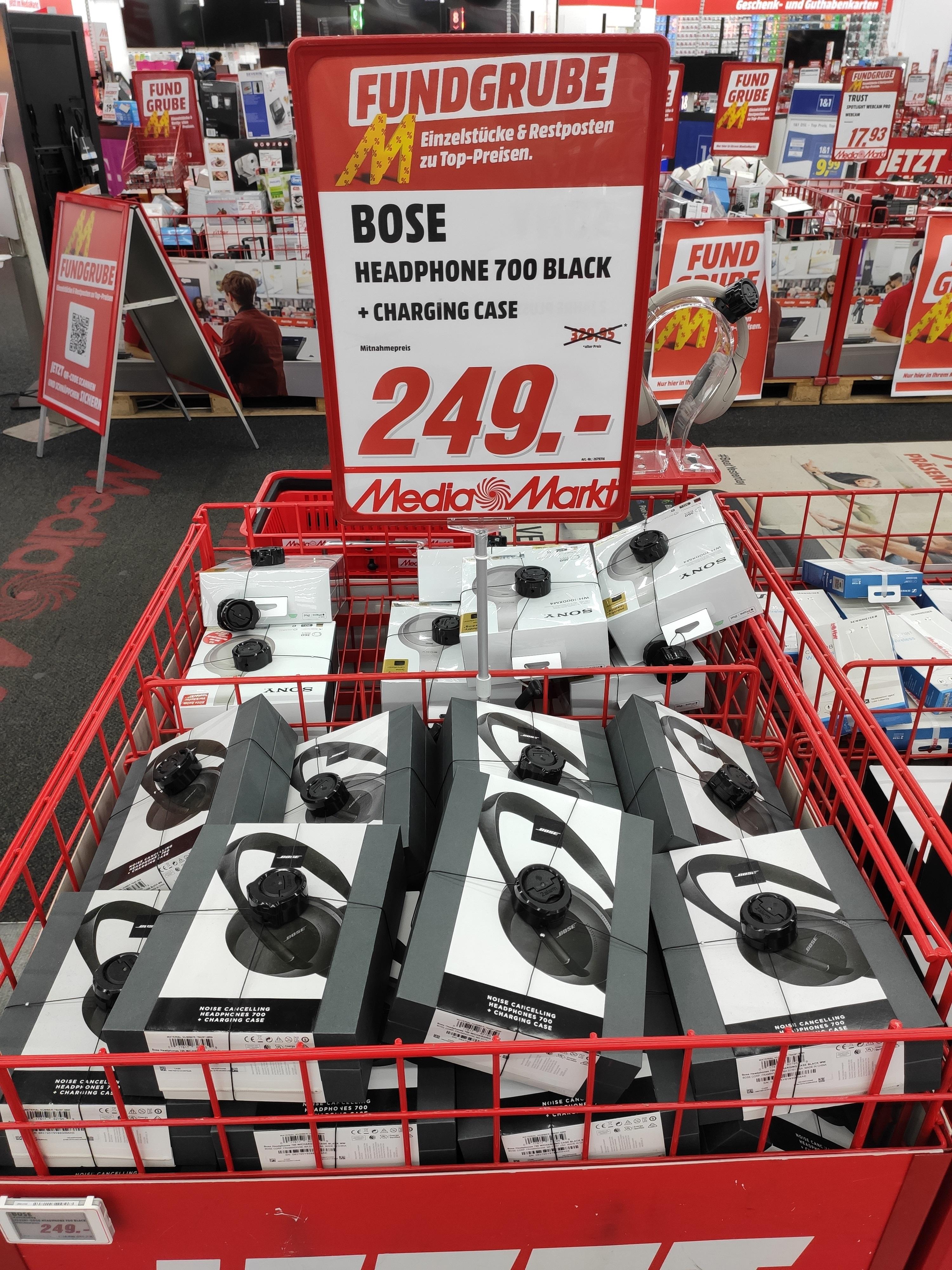 [LOKAL Berlin] Bose Headphones 700 inkl. Transportetui mit Ladefunktion / MM Alexa
