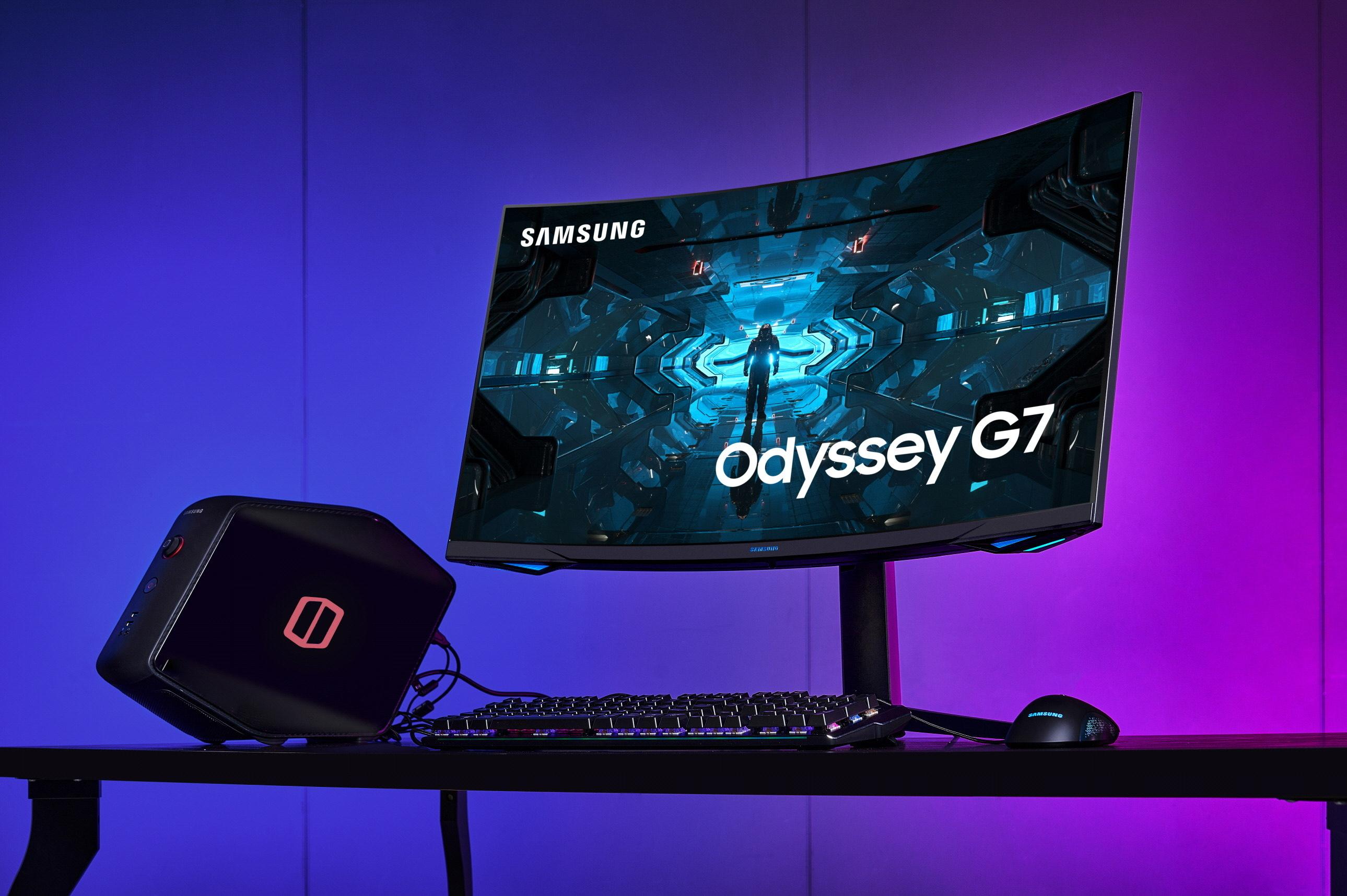 "Samsung Odyssey G7 C32G75T/C32G74T 31.5"" Gaming Monitor 240Hz 1ms"