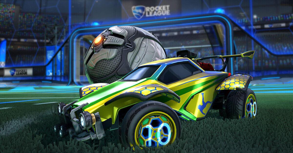 [Rocket League] Kostenlose Items Lamborghini Spielerbanner.+ Pele Antenne/Spielerbanner