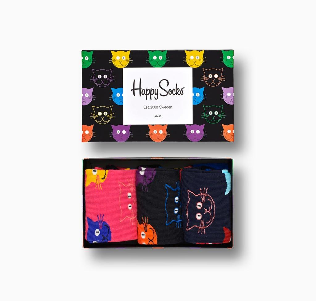 Happy Socks Sale - z.B. 4er Pack für 21€ + 3,95€ VSK
