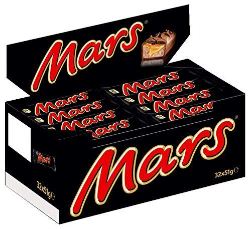 Mars Schokoriegel - 32 Riegel in einer Box (32 x 51 g) für 11,45€ inkl. Versand (Amazon Prime)