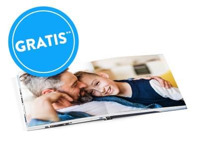 Sonderangebote für Muttertag und Vatertag, z.B. GRATIS Echtfotobuch 10x10 cm (VSK: 4,99€)