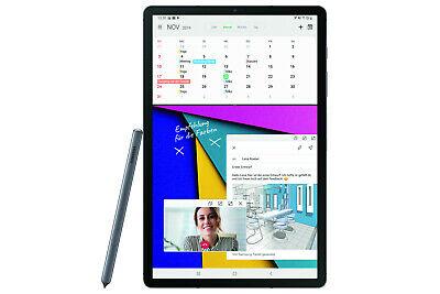 """Samsung Galaxy Tab S6, 256GB/8GB, 4G LTE, 10.5"""" WQXGA AMOLED Tablet inkl. S-Pen, Mountain Grey, SD855, USB-C/DP [eBay Mediamarkt]"""