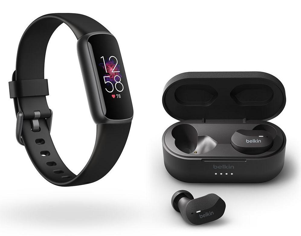[Vorbestellung] Fitbit Luxe Fitnesstracker + Belkin Soundform True Wireless In-Ears (inkl. 6 Monaten Fitbit Premium & Spotify Premium Test)