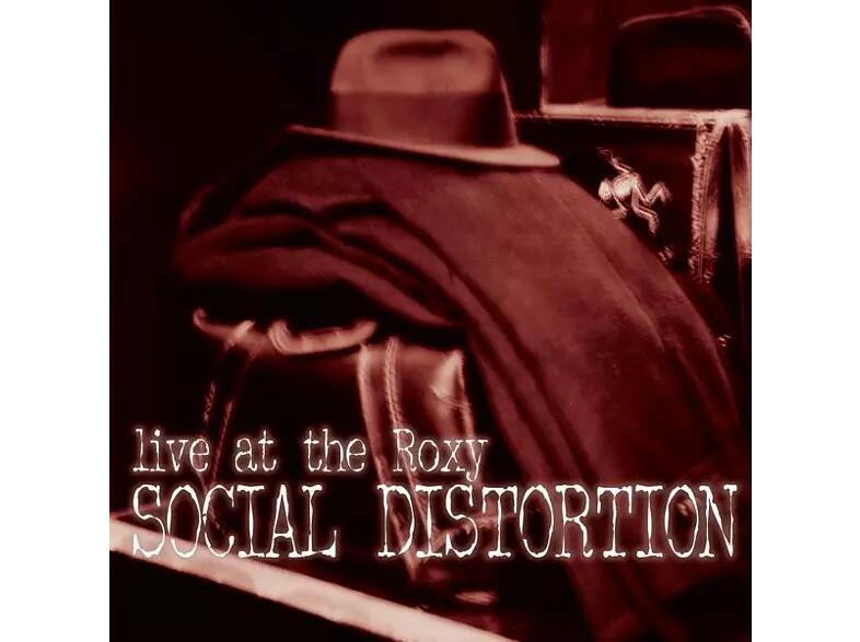 Social Distortion - LIVE AT THE ROXY - Vinyl (2LP)