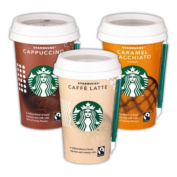 [Marktkauf] Minden-Hannover Starbucks Kaffeespezialitäten aus dem Kühlregal in Kombination mit Coupies + DeutschlandCard für effektiv 0,49€