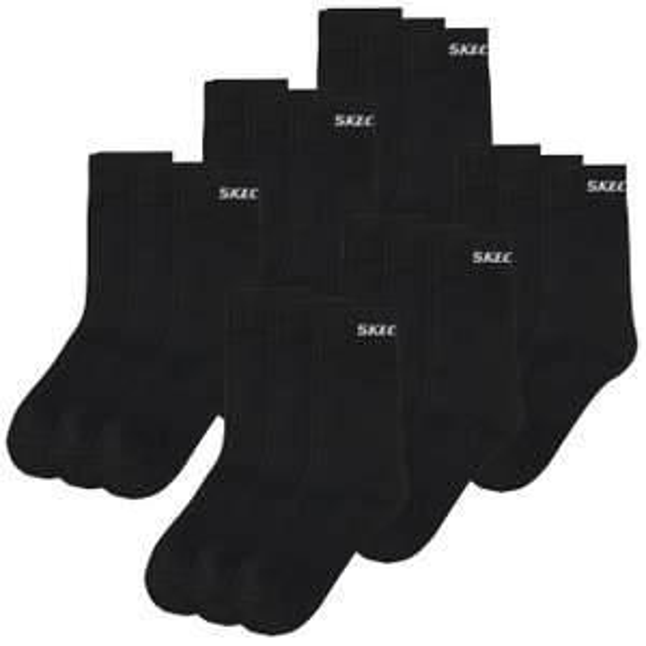 18 Paar unisex Skechers Socken (Quarter oder Normal) in verschiedenen Farben (Gr. 35-49) für 19,99€ + 3,90€ Versand oder 36 Paar für 39,98€