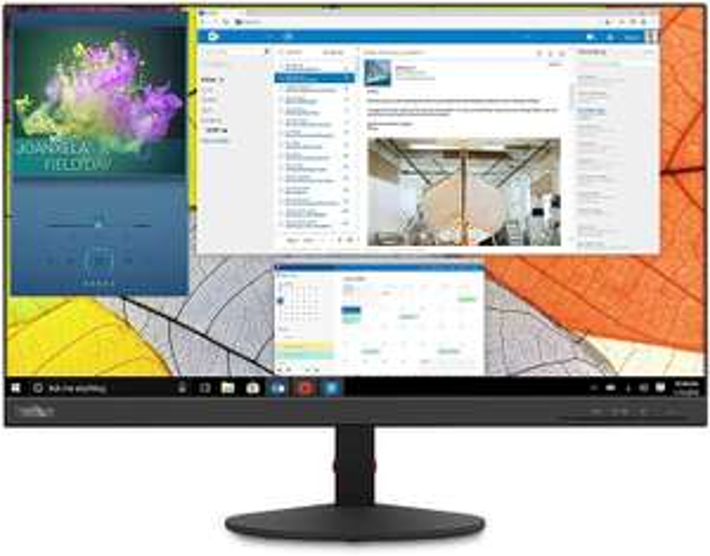 """NBB-Tagesangebote: z.B. Lenovo ThinkVision S24q-10 Monitor (23.8"""", WQHD, IPS, 60Hz, 300cd/m², 99% sRGB, HDMI, DP, VESA, 3J Garantie)"""
