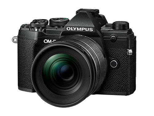 Olympus E‑M5 Mark III 12‑45mm F4 PRO‑Kit + Objektiv M.Zuiko Digital 45mm F1.8