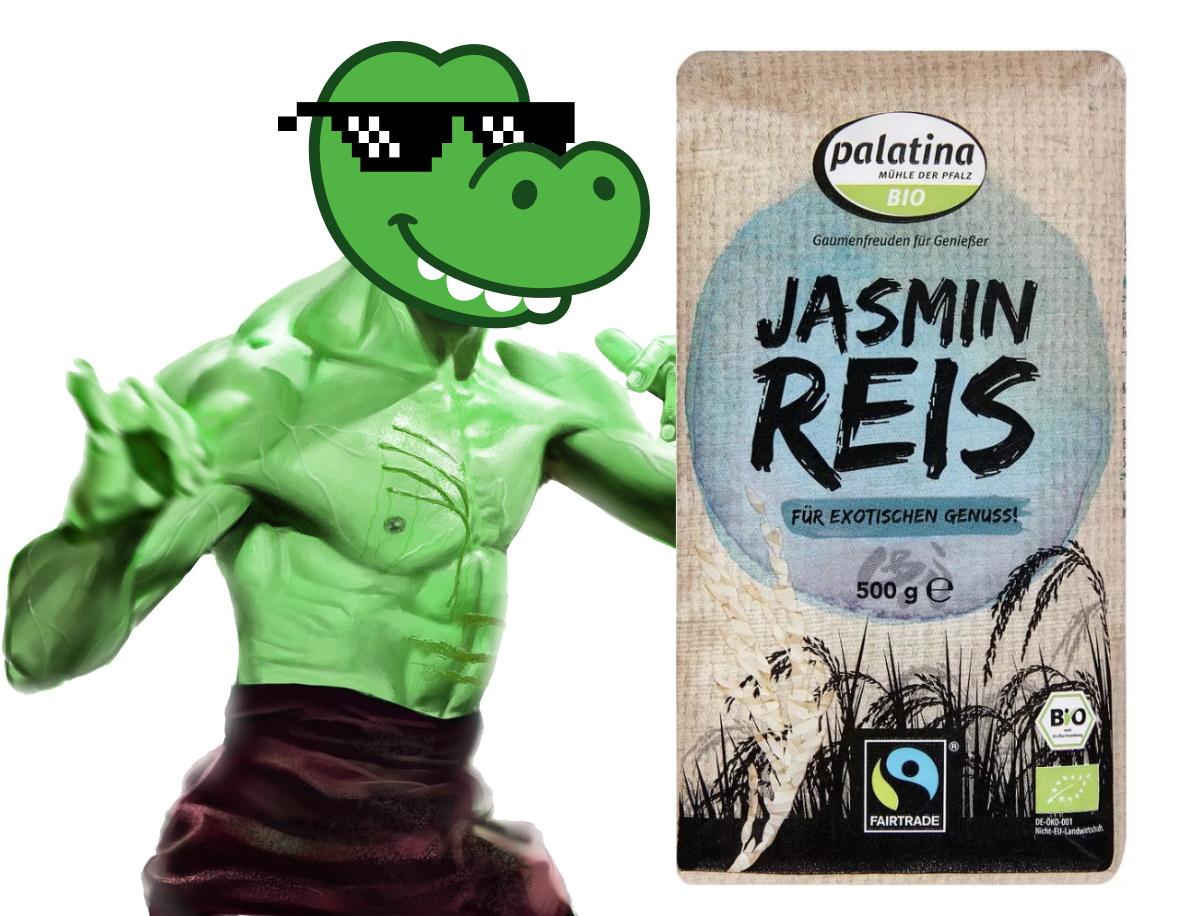 Pumpermarkt [17/21]: z.B. 500g palatina Fairtrade Bio Jasmin Reis für 1,29€ ab Donnerstag bei Kaufland